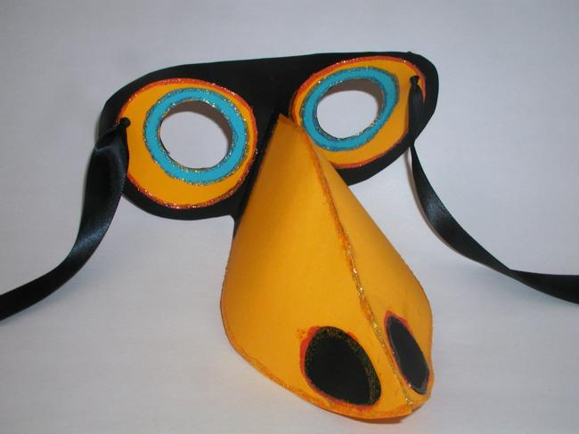 Toucan Mask Designed By Heather Lancaster