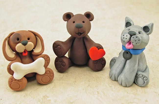 easy clay animals - photo #7