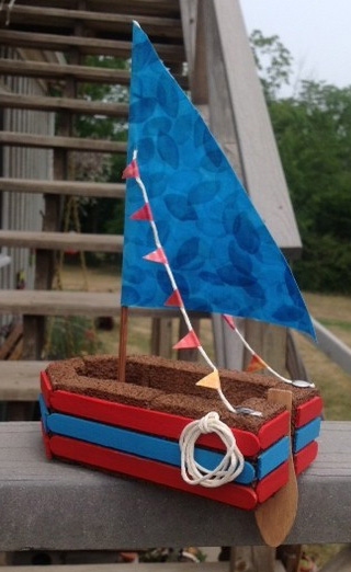 how to make a craft boat that floats