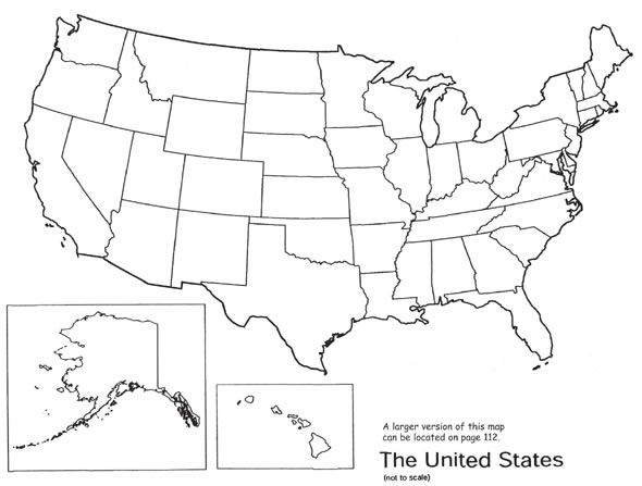 Optional Punch Small Stars Out Of Construction Paper And Glue Them On The Map To Identify Each State Capital Write In The Name Of The Capitals Next To The