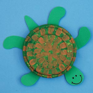 Hands On Crafts for Kids  Sea Turtles